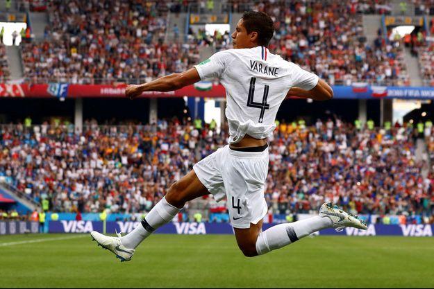 Raphaël Varane a inscrit le premier but de la rencontre.