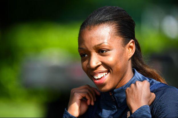 Grace Geyoro, milieu de l'équipe de France.