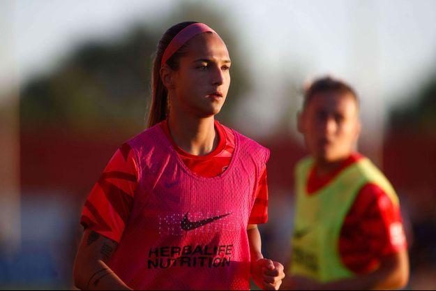 La joueuse du Venezuela, Deyna Castellanos.