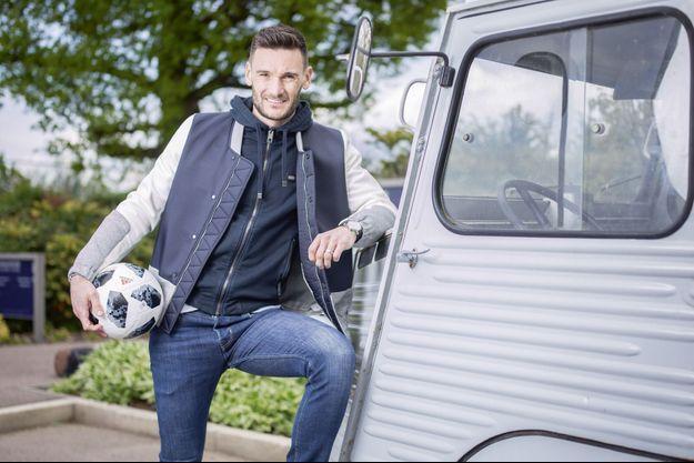 Hugo Lloris, le 2 mai, au centre d'entraînement de Tottenham, dans le nord de Londres.