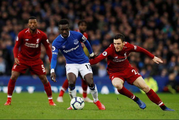 Idrissa Gueye sous le maillot d'Everton