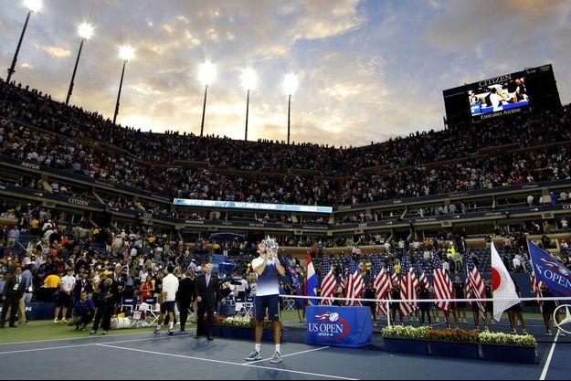 Marin Cilic a remporté l'US Open lundi.