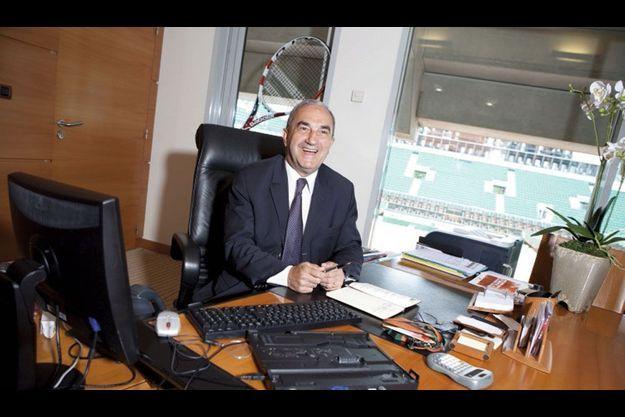 Jean Gachassin, président de la FFT.