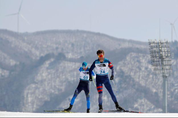Benjamin Daviet a décroché l'or mardi en biathlon.