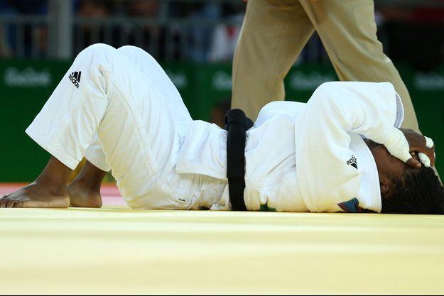 La judoka française Gévrise Emane a été éliminée en huitièmes de finale aux jeux Olympiques de Rio.