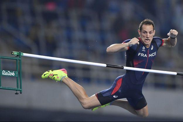 Renaud Lavillenie a échoué à deux reprises à 6m03
