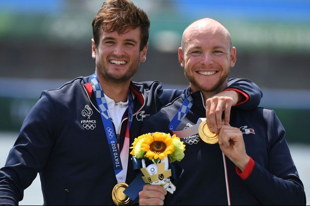 Hugo Boucheron et Matthieu Androdias ont remporté l'or olympique.