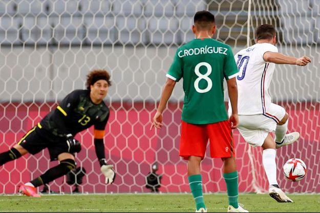 André-Pierre Gignac a inscrit un penalty à la 69e minute.