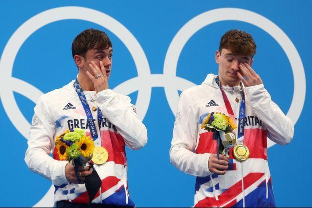 Tom Daley et Matty Lee ont remporté l'or en plongeon synchronisé.