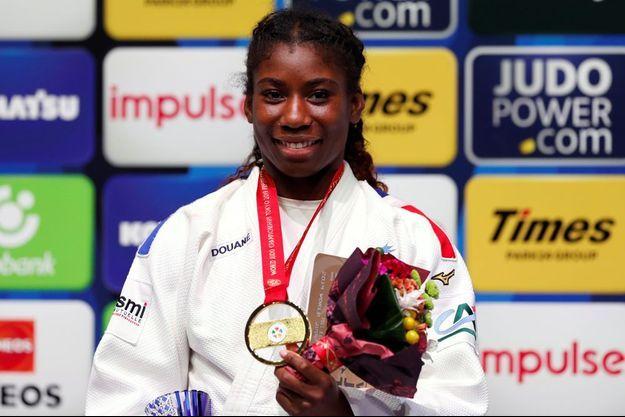 Marie-Eve Gahié a remporté son premier titre de championne du monde.