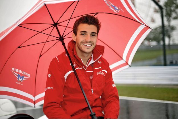 Le sourire de Jules Bianchi, quelques heures avant le Grand Prix du Japon.