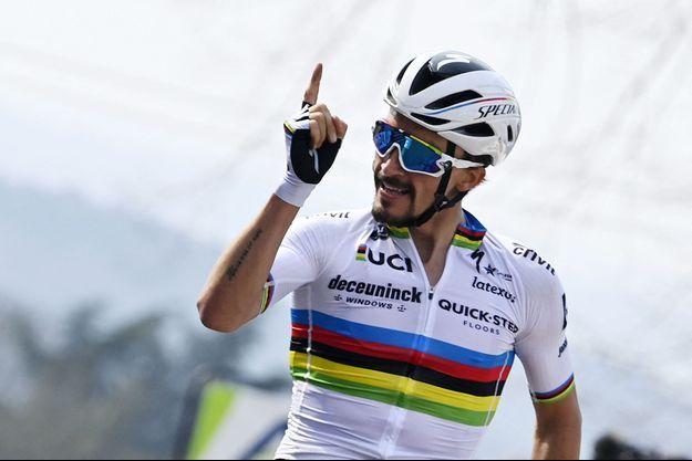 Julian Alaphilippe a remporté sa troisième Flèche wallonne.
