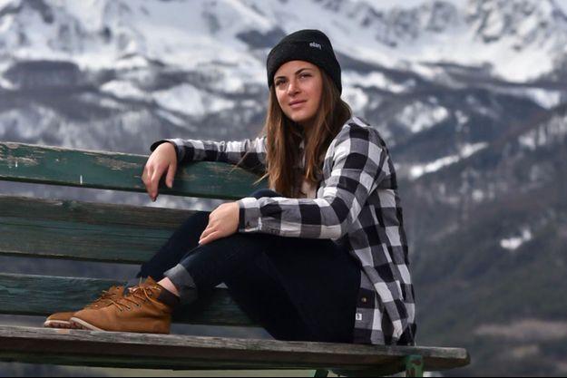 Juliette Willmann a obtenu la saison dernière son billet pour le Freeride World Tour.
