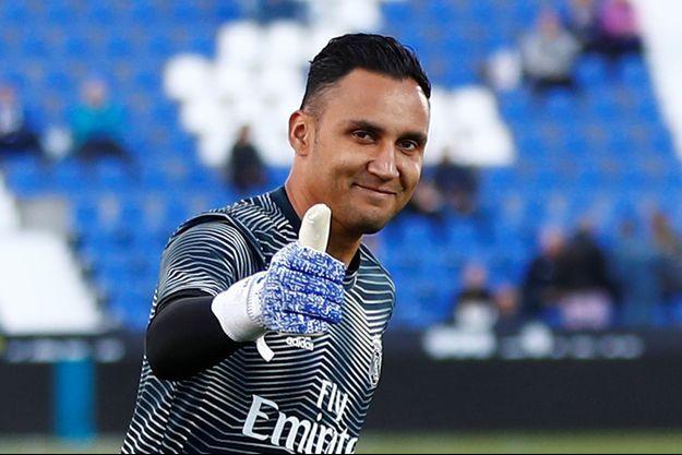 Keylor Navas, nouveau gardien du PSG.