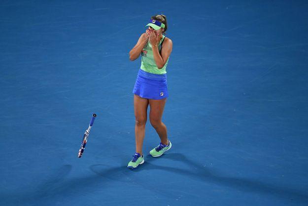 Sofia Kenin à Melbourne, le 1er février 2020.