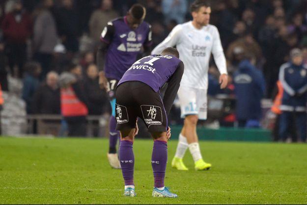 Le match entre Toulouse et Marseille se tenait dimanche soir à Toulouse.