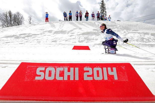 Tatyana McFadden a gagné une médaille d'argent mercredi à Sotchi.