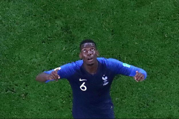 Paul Pogba après la victoire de la France sur la Belgique (1-0).