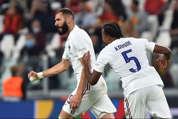 Karim Benzema a sonné le réveil bleu.