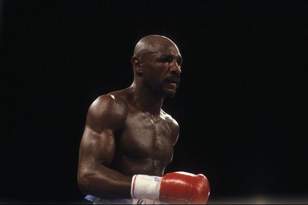 Marvin Hagler en 1984.