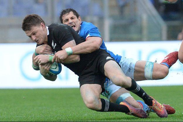 Photo d'illustration d'un plaquage au rugby.