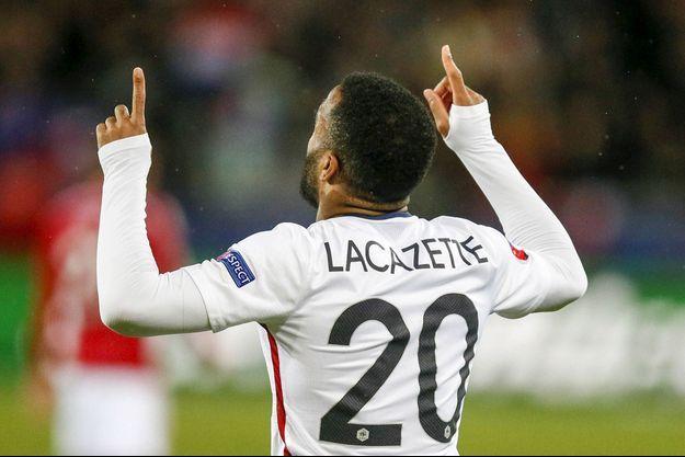 Alexandre Lacazette a inscrit le premier but de la rencontre.