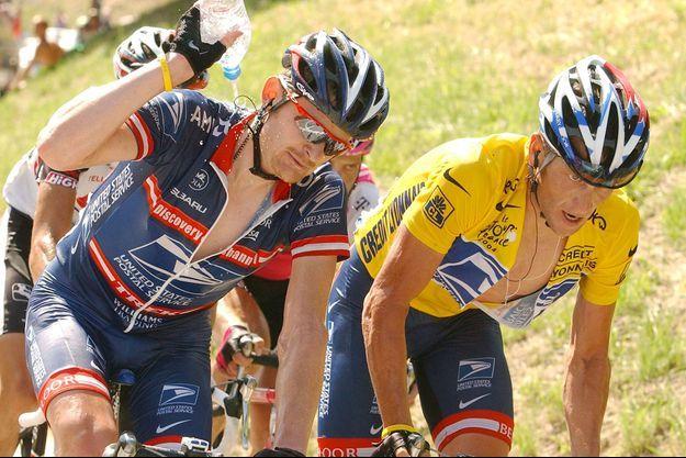 Floyd Landis et Lance Armstrong se déchirent aujourd'hui