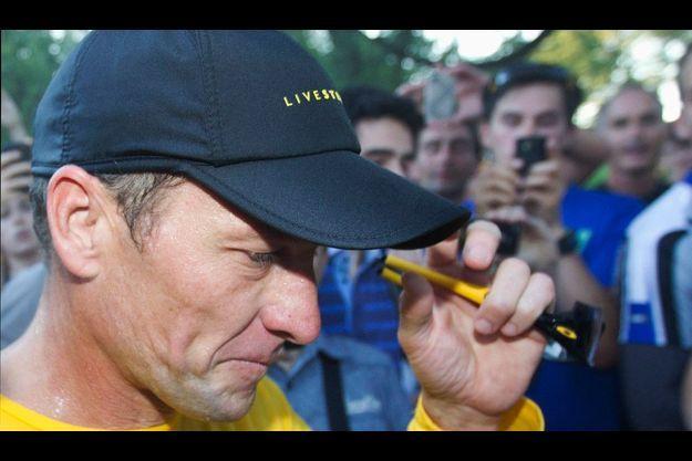 Lance Armstrong, le 30 août dernier.