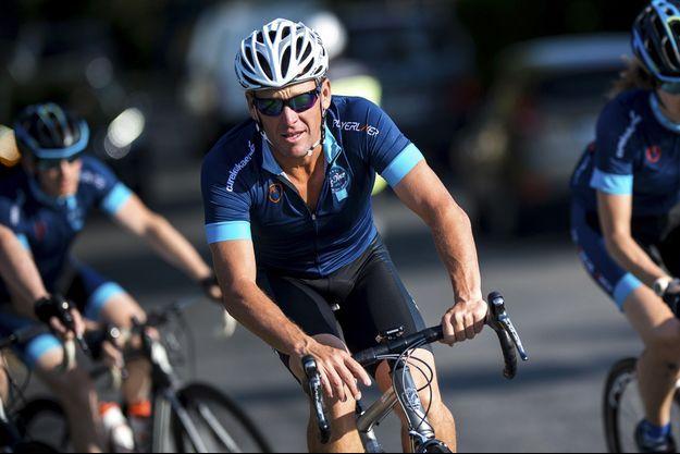 Lance Armstrong en juillet 2015