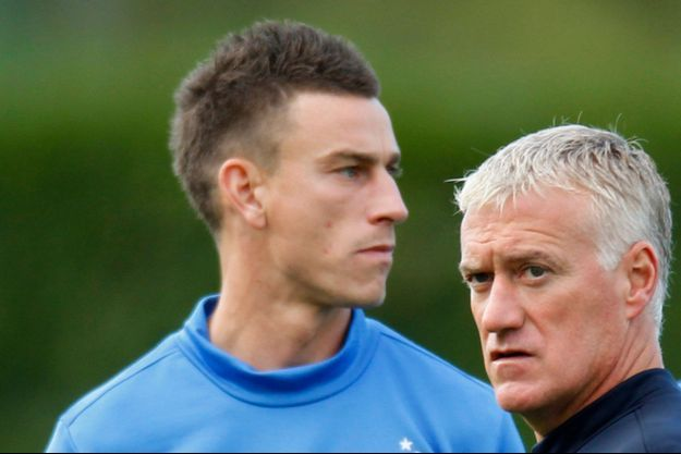 Laurent Koscielny et Didier Deschamps en 2012.