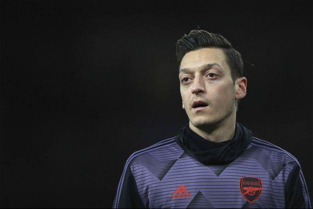 Le footballeur Mesut Özil.