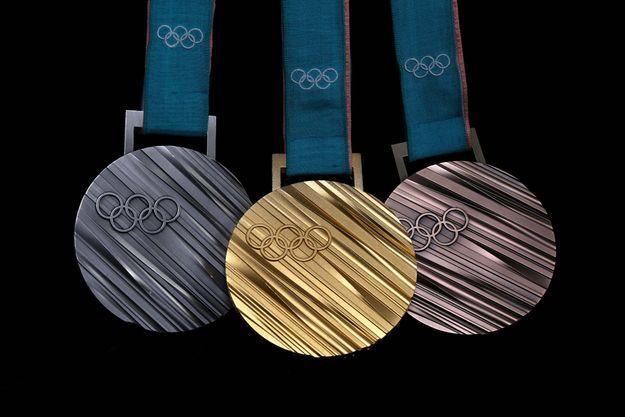 Les médailles des Jeux Olympiques de Pyeongchang