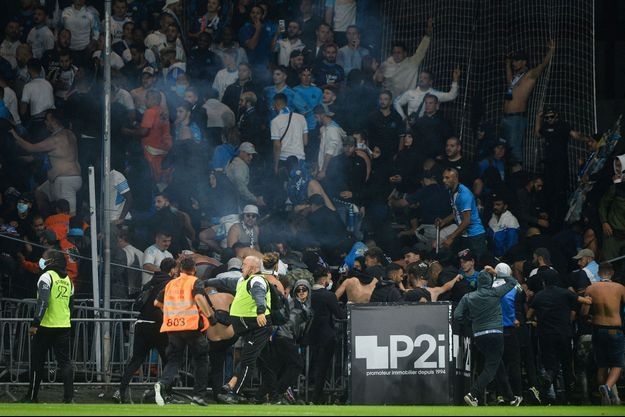 Des incidents ont éclaté lors d'Angers-Marseille.
