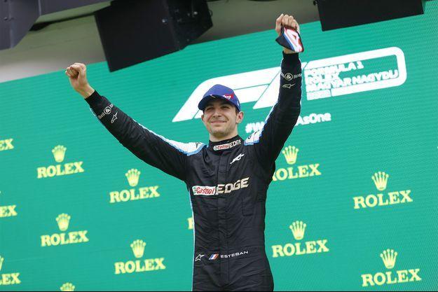 Le Français Esteban Ocon (Alpine) a remporté le premier Grand Prix de sa carrière dimanche.