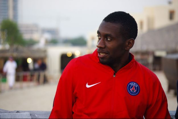 Blaise Matuidi était au Qatar en janvier, en stage avec le PSG. Nous avons rencontré le joueur.