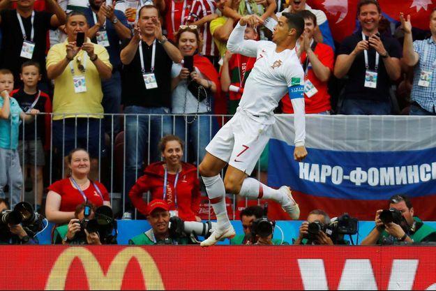 Cristiano Ronaldo a déjà marqué quatre buts...