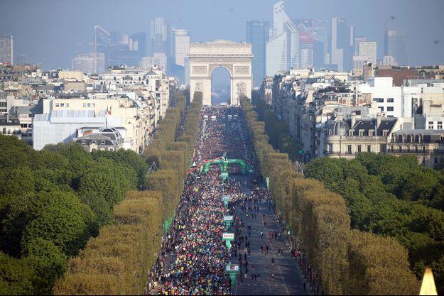 L'édition 2019 du Schneider Electric Marathon de Paris.