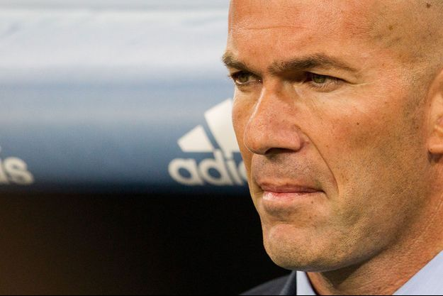 Zinédine Zidane à Madrid, le 16 août.