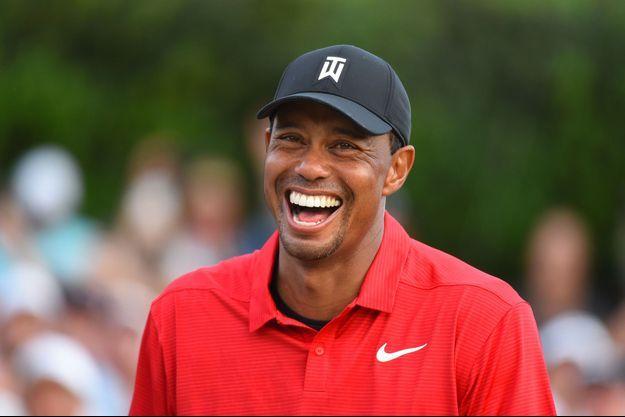 Tiger Woods dimancge