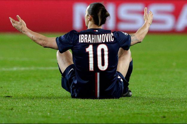 Zlatan Ibrahimovic n'a pas trouvé la clé du verrou des Blues de Chelsea.