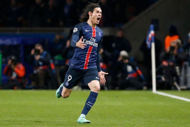 Edison Cavani a marqué le but de la victoire face à Chelsea.