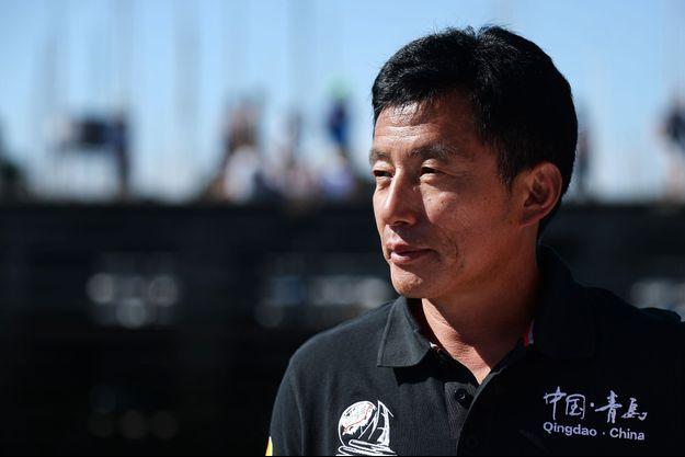 Le skipper chinois Guo Chuan, photographié en août 2015.