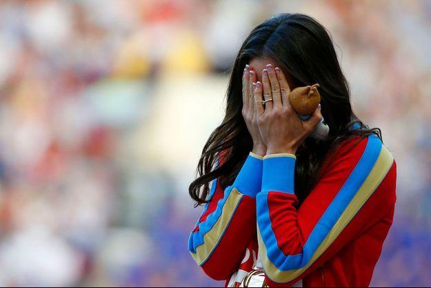 Championne olympique du saut à la perche, Yelena Isinbayeva a annoncé qu'elle porterait plainte devant les tribunaux