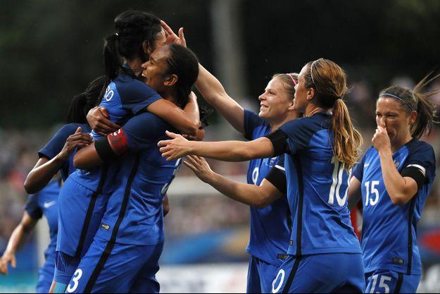 Match entre la France et la Chine le 16 juillet 2016.