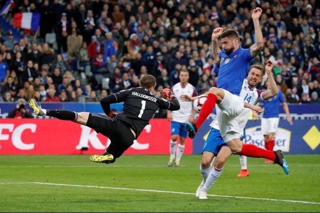 Olivier Giroud a marqué son 35e but sous le maillot tricolore.