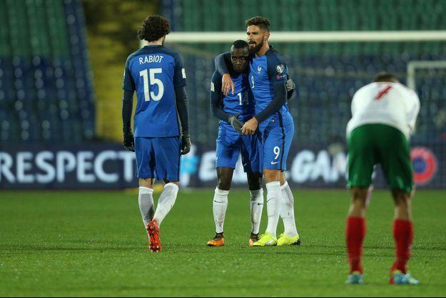 Less Bleus sont allés vaincre la Bulgarie (1-0, but de Matuidi), samedi à Sofia.