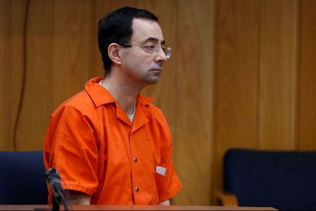 Larry Nassar au tribunal.