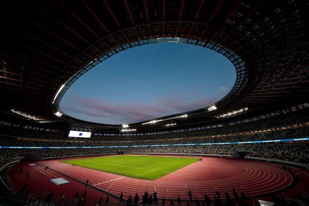 Stade olympique à Tokyo.