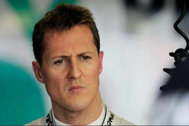 Michael Schumacher en 2011.