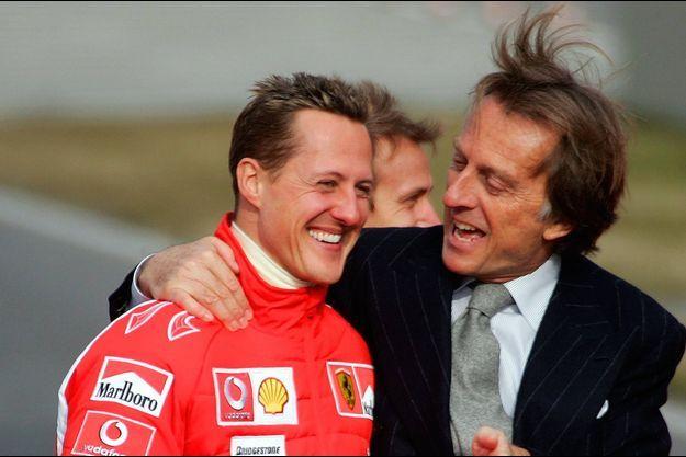 Michael Schumacher et Luca di Montezemolo en 2006